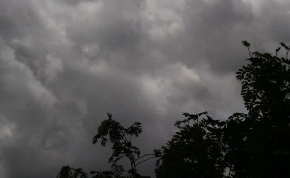 Previsão de temporal isolado para esta quinta-feira, na Serra Catarinense